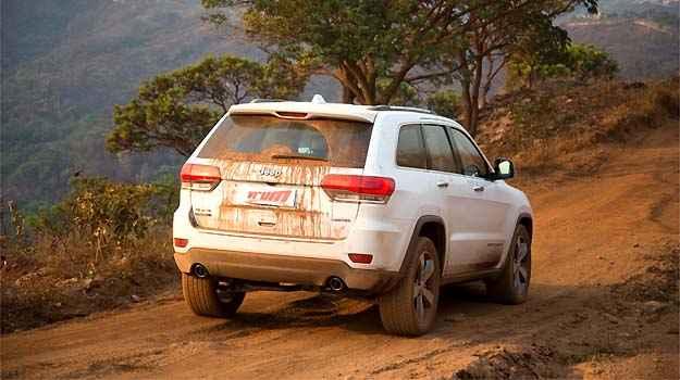 Robusto, SUV encara trilhas de diferentes níveis com facilidade - Thiago Ventura/EM/D.A PRESS