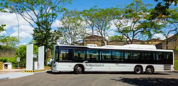 Scania e Itaipu anunciam primeiro ônibus movido a biometano do mundo