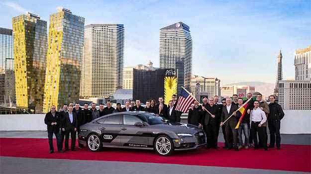 Sem intervenção de motoristas, Audi A7 Sportback autônomo chega a Las Vegas após rodar 885 km