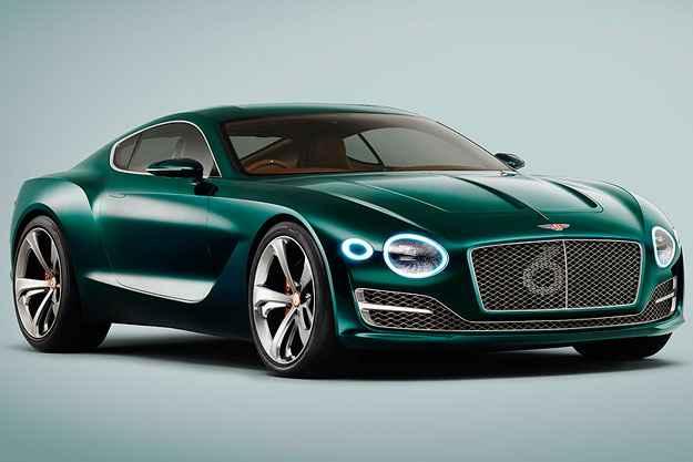 Bentley EXP 10 Speed mantém tradição e beleza da marca britânica
