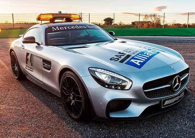 AMG GT S acelera de 0 a 100 km/h em 3,8 segundos - Mercedes-Benz/Divulgação