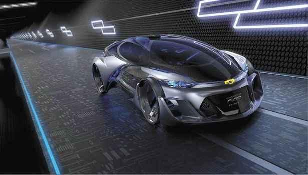 Conceito da Chevrolet adianta que futuro está nos veículos autônomos