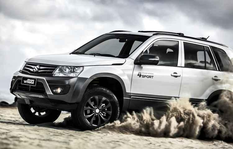 Suzuki apresenta Grand Vitara 4Sport a partir de R$ 95,9 mil