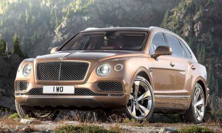 Bentley revela o Bentayga, seu primeiro SUV