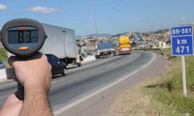 Detran facilita conversão de multas leves e médias em advertência em Minas