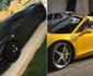 Gusttavo Lima ostenta Ferrari e bate boca com fã no Instagram