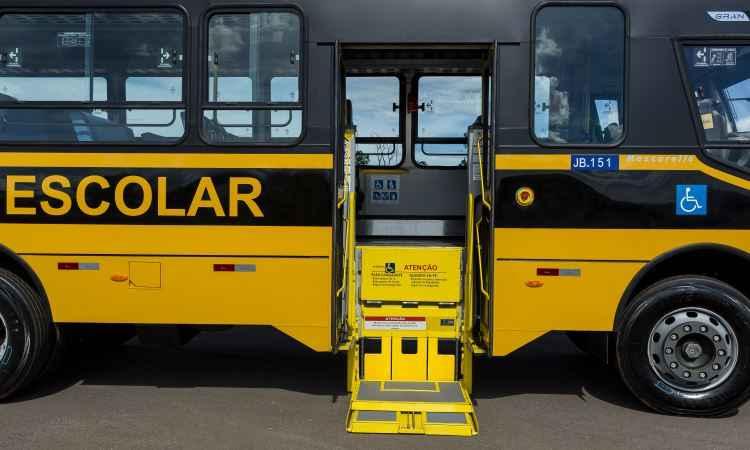 Todas as unidades do GranClass são equipadas com elevador para pne's - Iveco/Divulgação