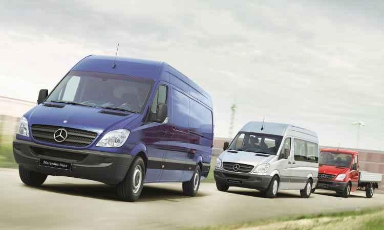Van da Mercedes-Benz é fabricada em seis unidades ao redor do globo - Mercedes-Benz/Divulgação
