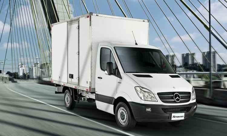 Na Europa, a Sprinter chassis e a Sprinter plataforma são produzidas em Ludwigsfelde - Mercedes-Benz/Divulgação