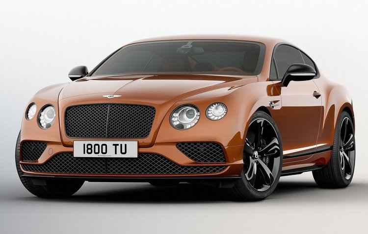 O cupê de 2,7 toneladas alcança uma máxima de 331 km/h - Bentley / Divulgação
