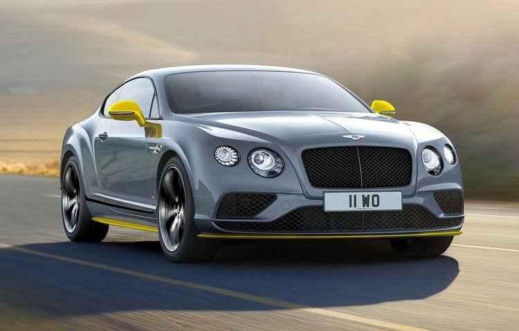 Bentley ganha destaque por suas propostas cada vez mais esportivas - Bentley/Divulgação