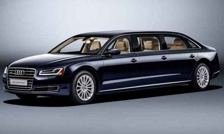 Audi projeta sob encomenda A8 limousine de seis portas