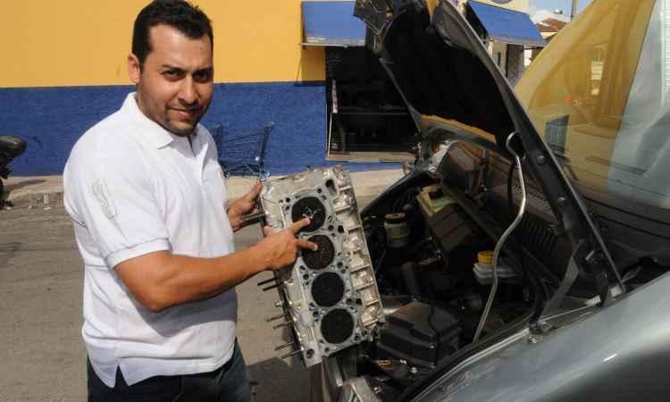 Thiago Fernandes Bueno é um dos proprietários de Ducato que reclamam - Cristina Horta/EM/D.A Press