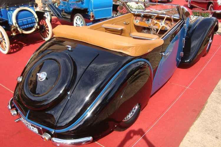 Bugatti 57 Stelvio DropHead Coupé 1939 - Bruno Freitas/EM/D.A Press