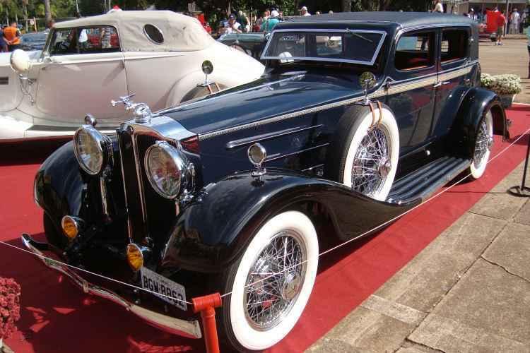 Packard 1931 encarroçado pela firma francesa Saoutchik - Bruno Freitas/EM/D.A Press