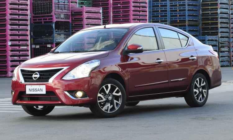 Versa agora tem vidros elétricos nas quatro portas de série e Isofix a partir da versão 1.6 SV - Nissan/Divulgação