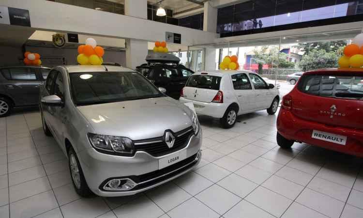 Vendas de carros novos em Minas cresce menos que a média nacional em junho
