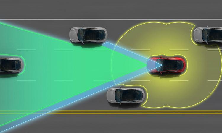 Modo autopilot dos modelos Tesla - Tesla/Divulgação