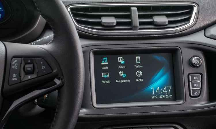 Sistema multimídia MyLink de segunda geração é outra novidade - General Motors/Divulgação