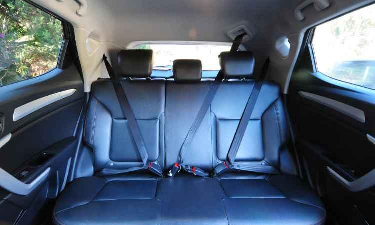 O espaço interno é bom para passageiros... - Gladyston Rodrigues/EM/D.A Press