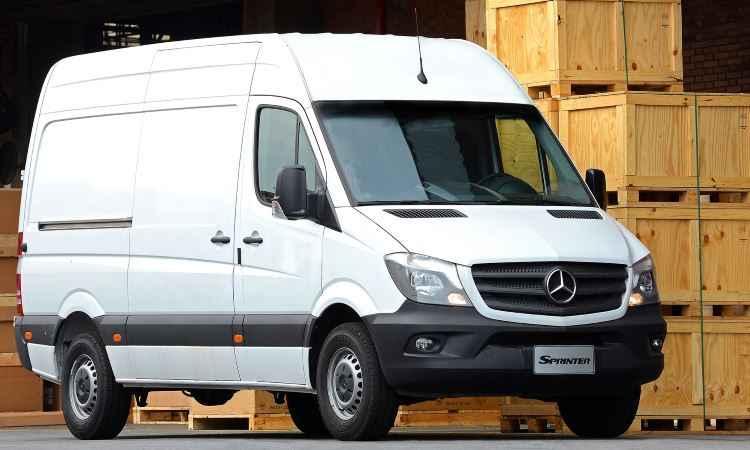 Reestilização do Mercedes-Benz Sprinter traz assistente de vento lateral