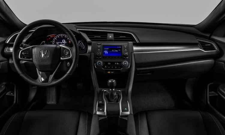 Versão Sport traz airbags frontais, laterais e de cortina, piloto automático e ar-condicionado digital  - Honda/Divulgação