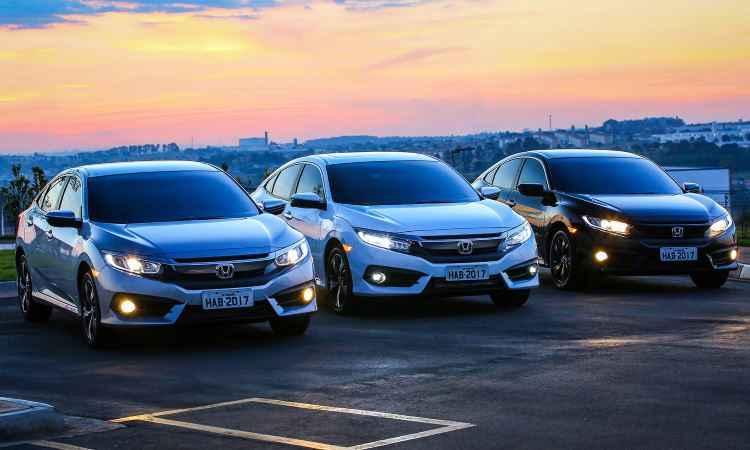 Modelo tem versões EX, EXL e Sport equipadas com motor 2.0 flex, e Touring, com o 1.5 turbo - Honda/Divulgação