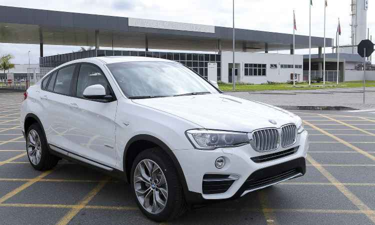 BMW X4 montado no Brasil mantém preço do modelo importado