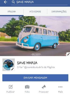Campanha no Facebook visa arrecadar recursos para nova restauração - Campanha Save Maria/Reprodução da internet