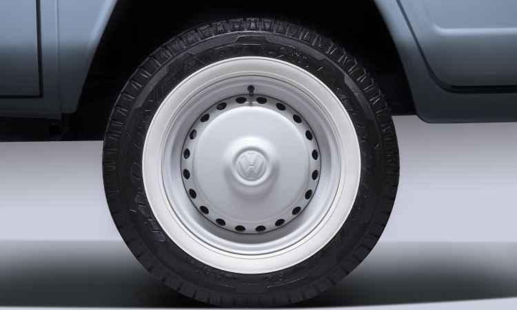 Série derradeira se diferenciava, entre outros itens, pela pintura saia e blusa e rodas brancas - Volkswagen/Divulgação