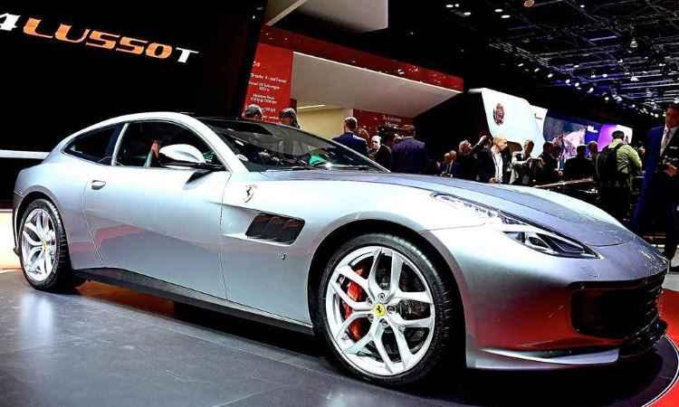 Ferrari GTC4 Lusso T - Miguel Medina/AFP