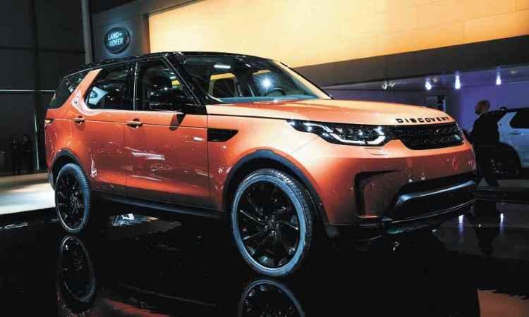 Novo Land Rover Discovery - Mondial de L'Aautomobile/Divulgação