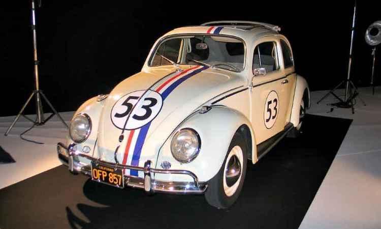 VW Fusca Herbie fez sucesso na telona - Enio Greco/EM/D.A Press