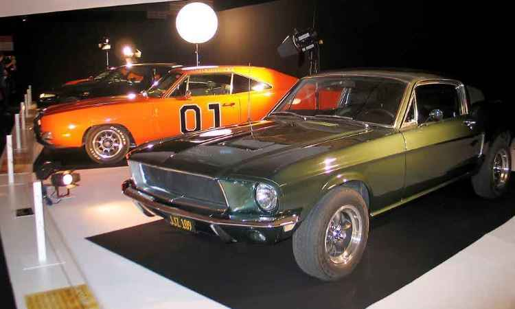 Mustang GT 390 e o Dodge Charger R/T - Enio Greco/EM/D.A Press