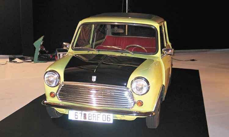 Mini 1000 do Mr. Bean - Enio Greco/EM/D.A Press