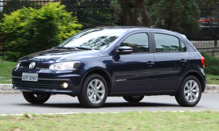 Volkswagen Gol Comfortline 1.0 - Marlos Ney Vidal/EM/D.A Press