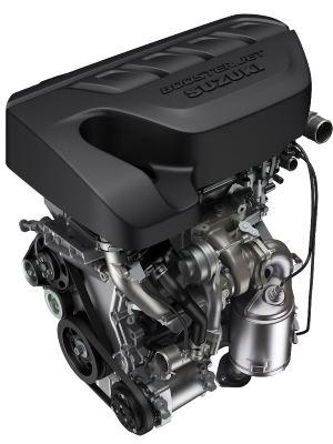 Novo motor 1.4 turbo gera 146cv de potência e 23kgfm de torque - Suzuki/Divulgação