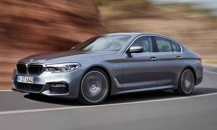 Sétima geração do BMW Série 5 fica mais leve e segura ao dirigir
