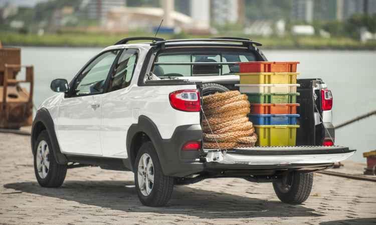 Fiat Strada Hard Working 1.4 cabine dupla 2017 - Fiat/Divulgação