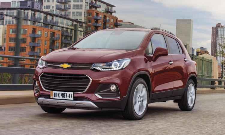 Chevrolet Tracker reestilizado - General Motors/Divulgação