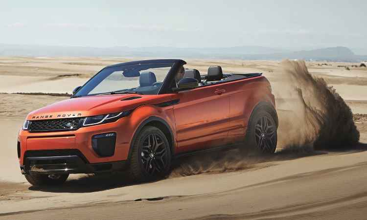Range Rover Evoque Conversível terá pré-venda a partir do Salão'2016