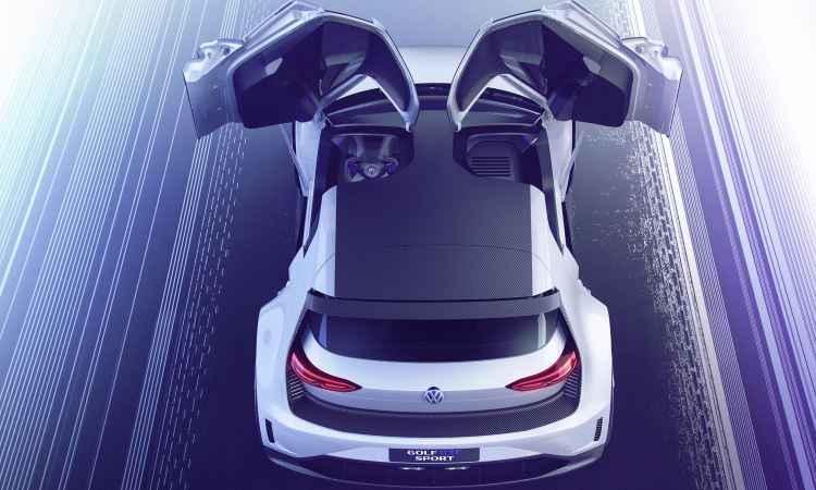 Volkswagen Golf GTE - Volkswagen/Divulgação