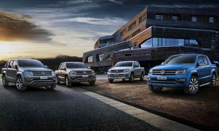 VW Amarok reestilizada e nova Nissan Frontier estão confirmadas no Salão'2016