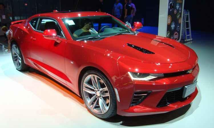 Novo Chevrolet Camaro - Bruno Freitas/EM/D.A Press