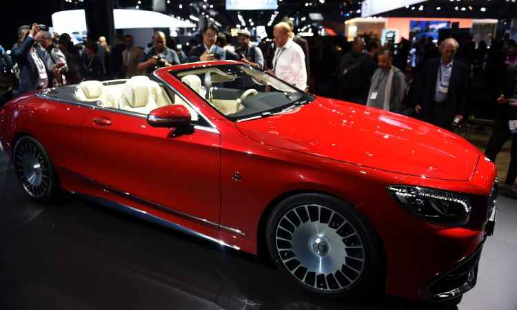 Mercedes-Maybach S 650 Cabriolet  - ROBYN BECK