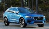 Destaque no estande da Volvo na mostra suíça é o novo XC60, que chega carregado de tecnologias