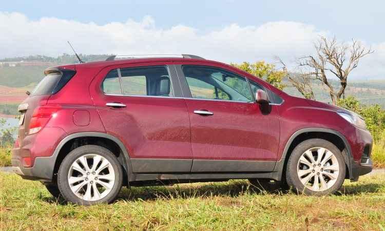 Com a frente em cunha e linha de cintura elevada, o SUV compacto traz modernidade em seu estilo - Ramon Lisboa/EM/D.A Press