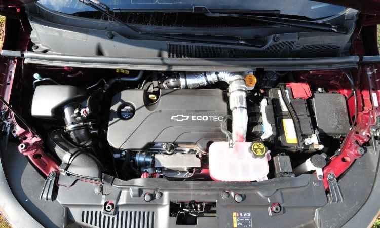 O compacto motor 1.4 turbo tem bom torque em baixas rotações, proporcionando respostas rápidas - Ramon Lisboa/EM/D.A Press