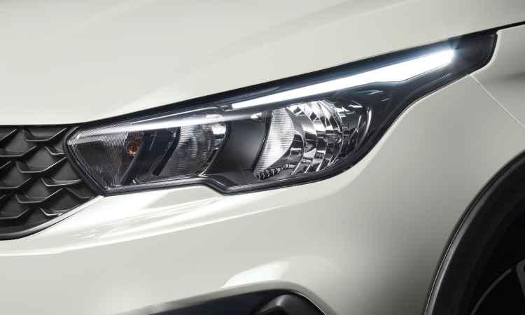 Faróis trazem assinatura de LED - Fiat/Divulgação