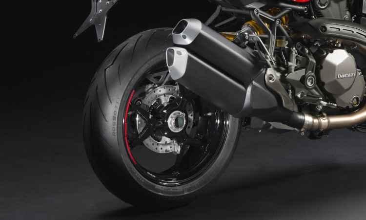 Os freios são Brembo radiais, com sistema ABS de curva - Fotos: Mario Villaescusa/Johanes Duarte/Ducati/Divulgação